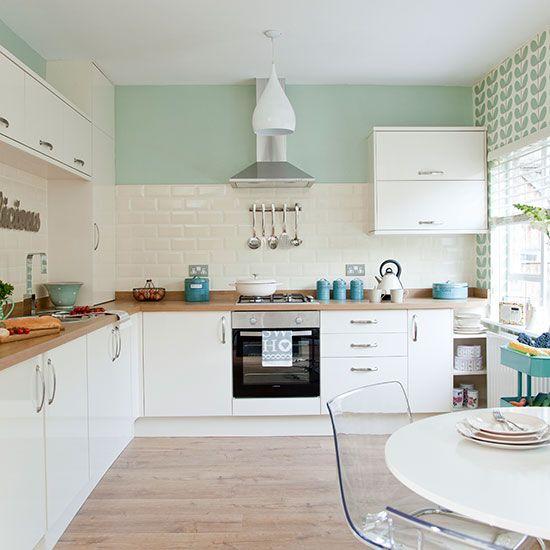 Inspiration Déco Pour La Cuisine Le Carrelage Metro Idées - Carrelage turquoise pour idees de deco de cuisine