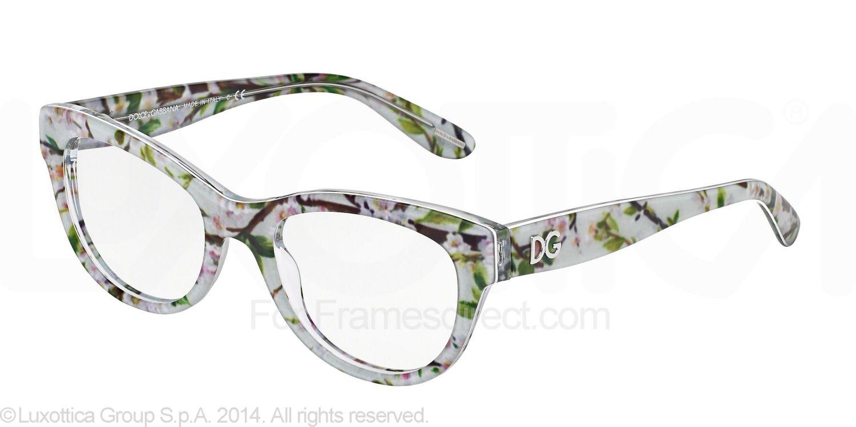 3039268464 Dolce   Gabbana DG3203 - Almond Flowers Eyeglasses