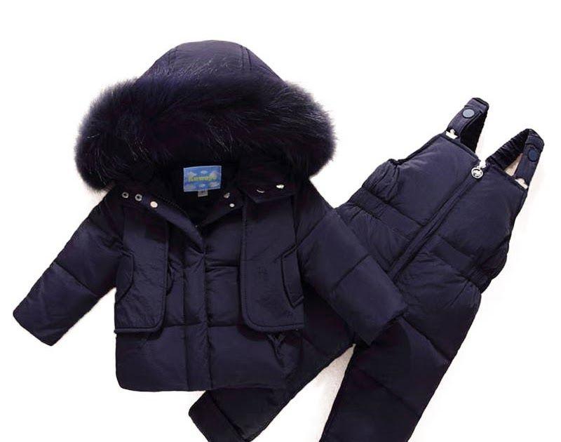 51b0af8f2 Big SALE Russian Winter Children Suit Toddler Boys Girl Clothes Sets ...
