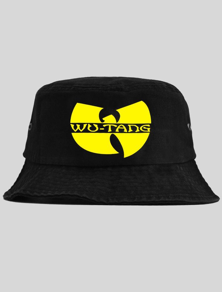 6d948713a Wu Tang Black Bucket Hat   KYC Vintage   Headwear   Black bucket hat ...