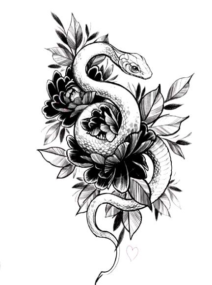 Tattoo Ontwerpen Tekeningen Slang 23 Ideeen Tattoo Tattoo Design Drawings Snake Tattoo Design Tattoo Designs