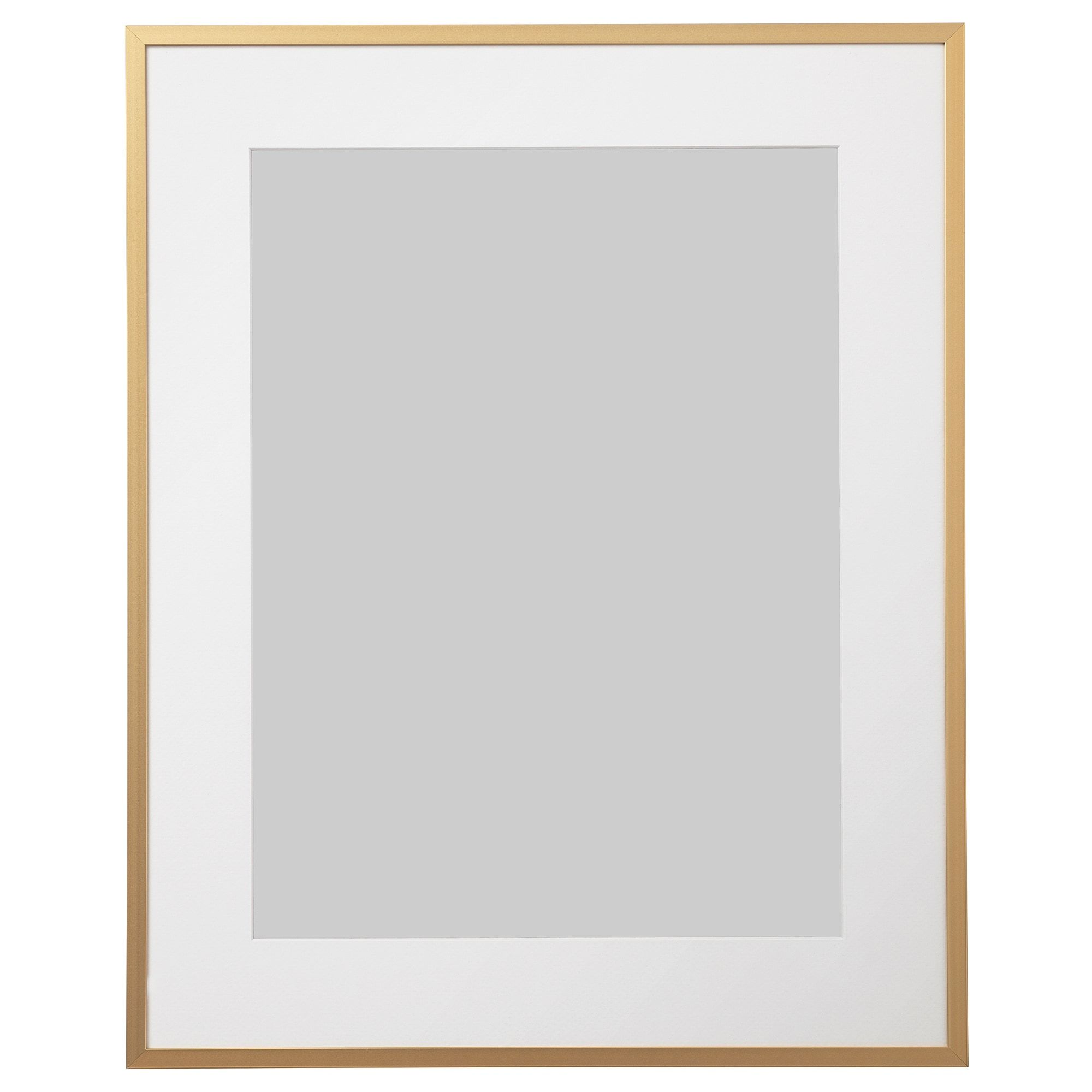 Lomviken Frame Gold Colour 16x20 41x51 Cm In 2020 Gold Picture Frames Frame Picture Frame Wall