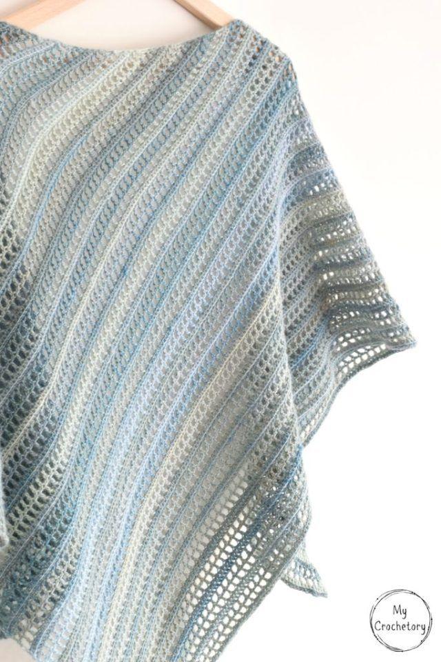 Aprilis Shawl Free Crochet Pattern By Crochet Only Pinterest