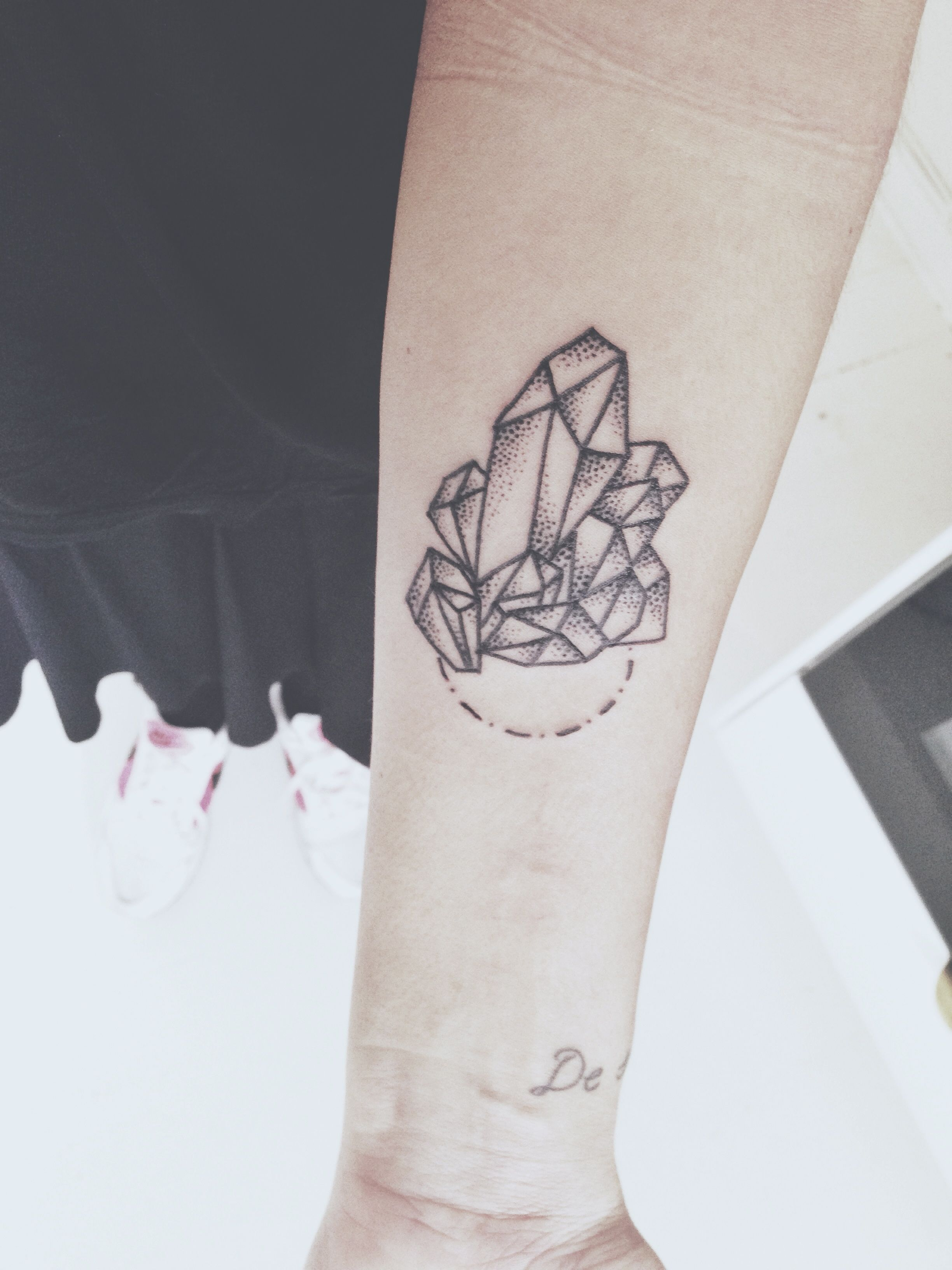 Crystal Tattoo By Ava @ People's Art Tattoo, Copenhagen