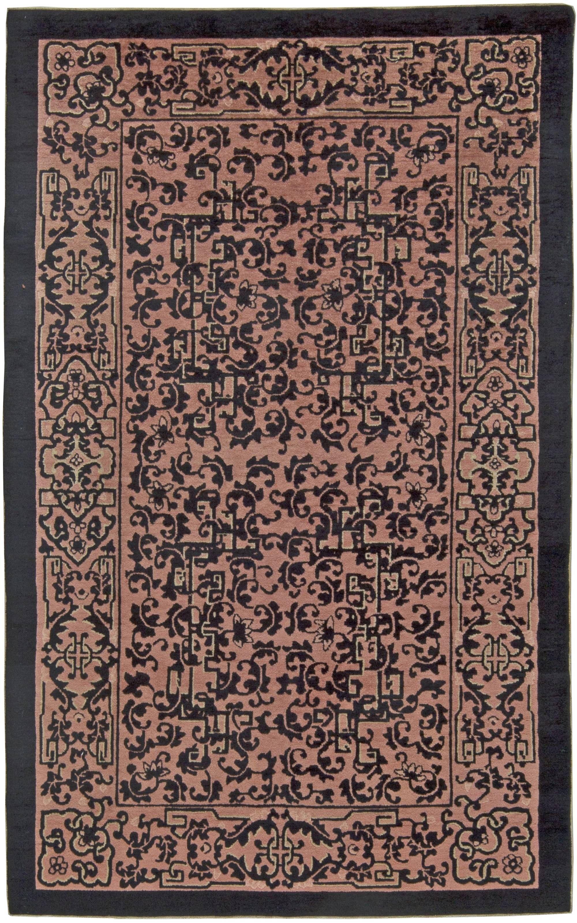 Vintage Rugs Vintage Rug (Chinese) For Modern Or Oriental Interior