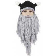 Beard Braid Tassel Embellished Animal Head Hat -  13.78 Free ... 866cb1a1fba