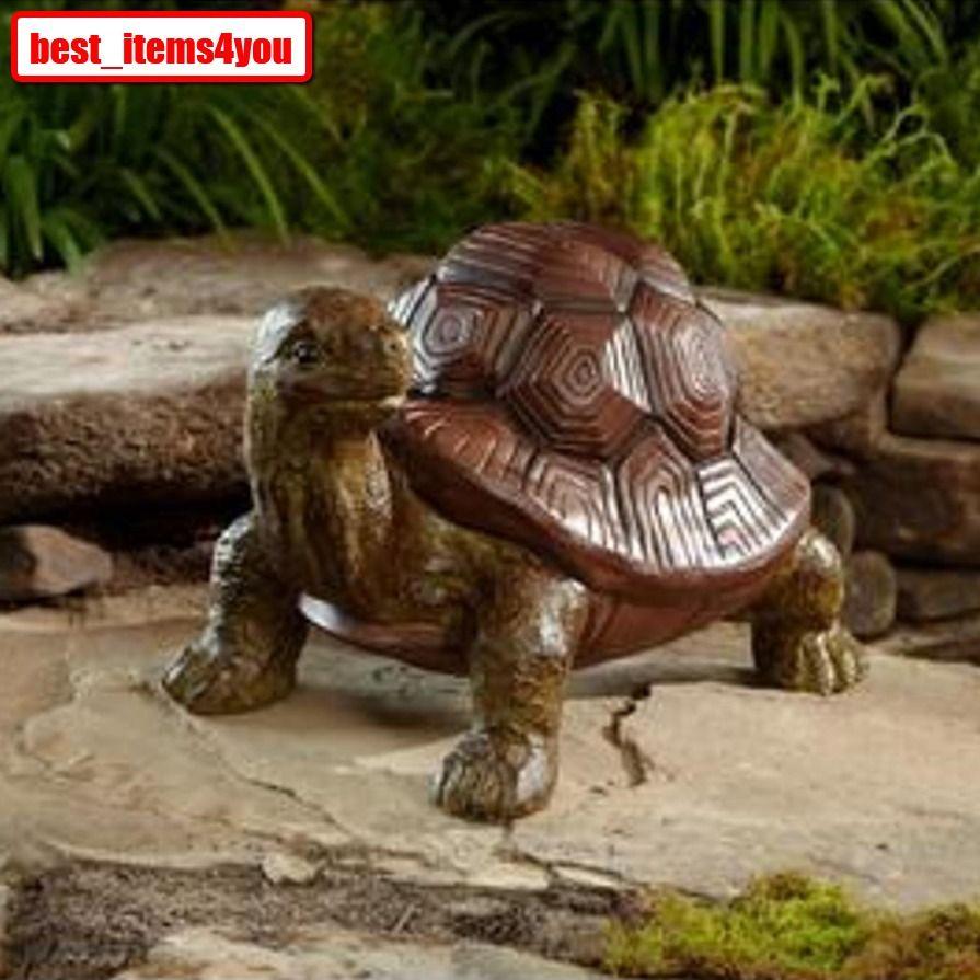 Large Desert Turtle Statue Outdoor Garden Lawn Porch Yard Home Decor ...