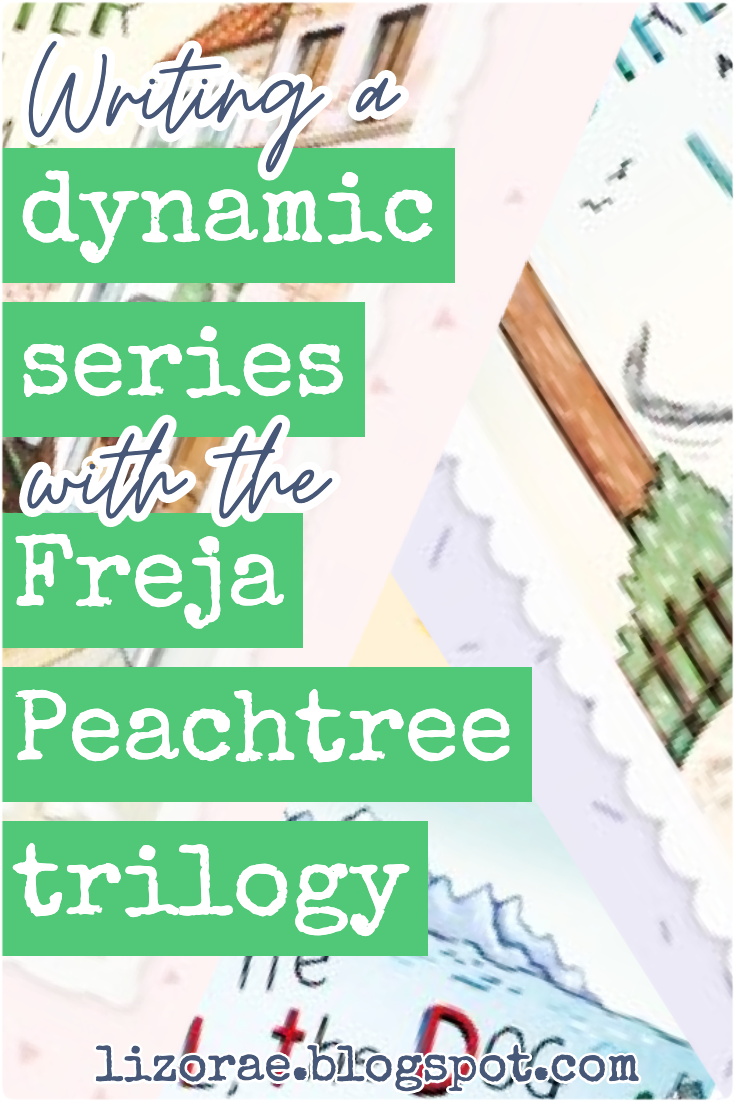 Explore how to write a dynamic series with The Freja Peachtree Trilogy by the amazing author Katrina Nannestad.  #amwriting #writingtips #series #frejapeachtree