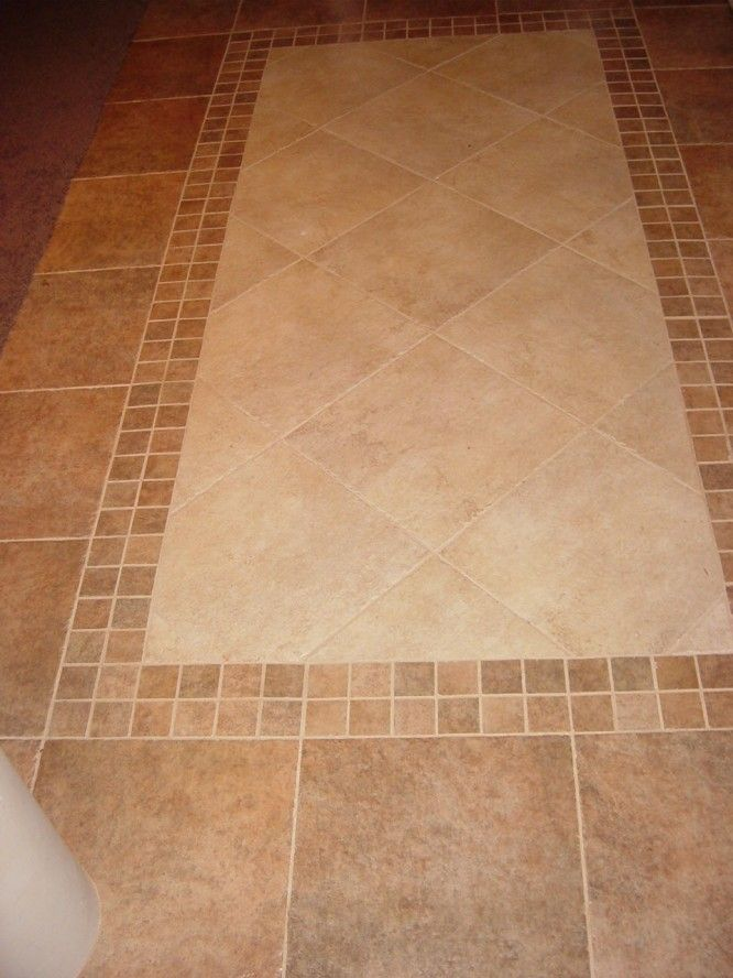 Tile flooring designs tile floor patterns determining for Kitchen tile design ideas