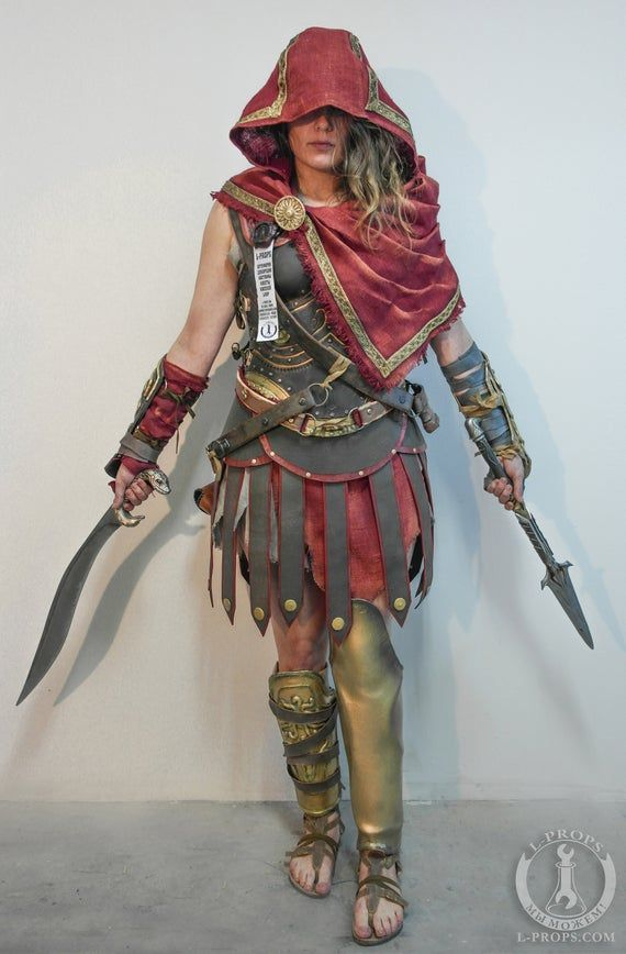 Kassandra Alexios Cosplay Etsy In 2020 Assassins Creed Cosplay