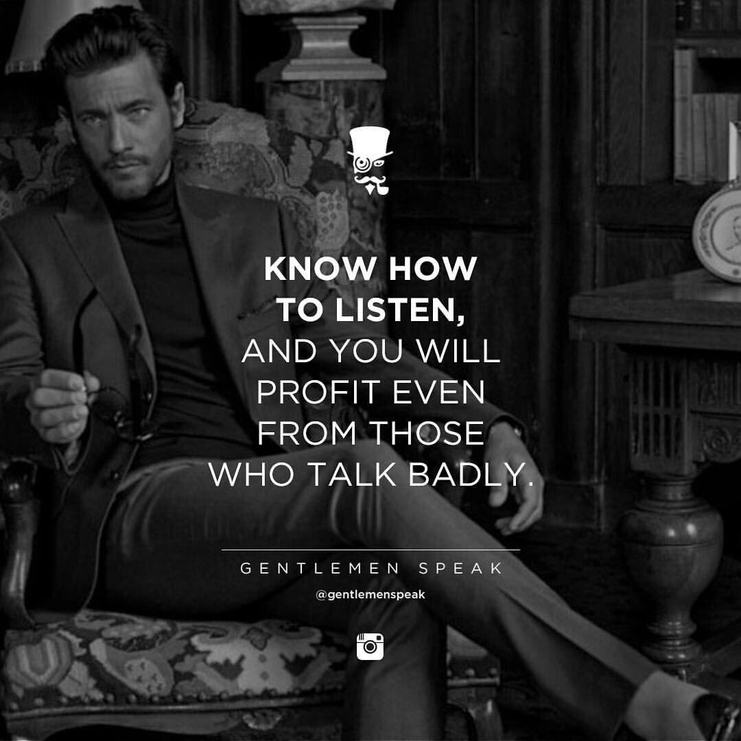40 Likes, 4 Comments GentlemenSpeak (gentlemenspeak) on