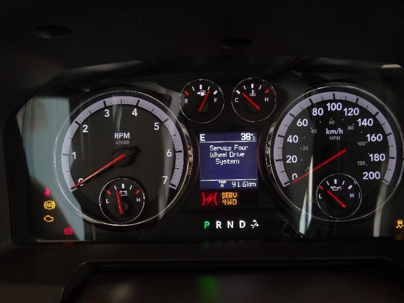 Warning Lights Dodge Ram 1500 2012