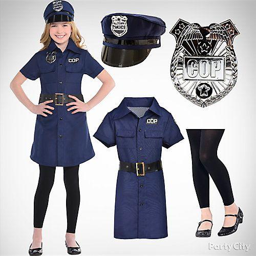 16 Top Girls Costume Ideas Police Costume Kids Police Halloween Costumes Cop Halloween Costume