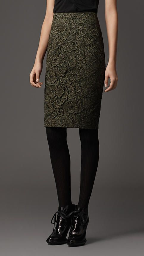 85af6f5461 Burberry London Lace Pencil Skirt | What to wear - fun, work and ...