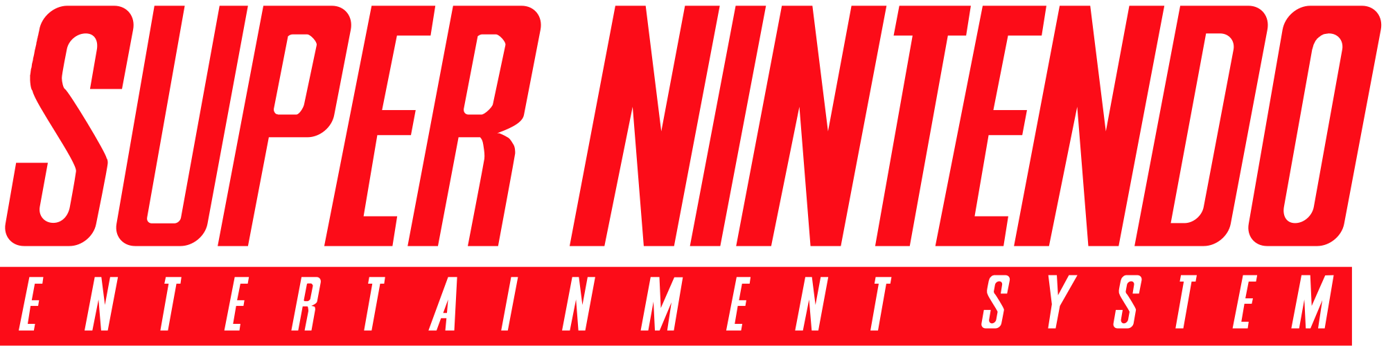 Super Nintendo Entertaiment System Nintendo, Logotipo