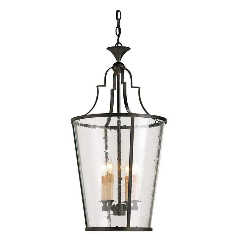 Goshen seeded glass wrought 4 light iron bucket lantern pendant french county chandeliers for entryways goshen seeded glass wrought 4 light iron bucket lantern pendant aloadofball Gallery