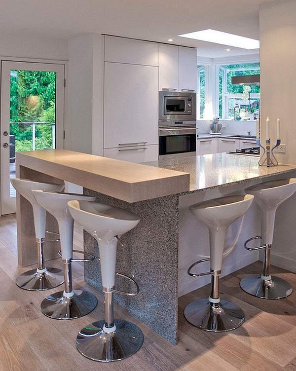 10 Trendy Bar And Counter Stools To Complete Your Modern Kitchen Modern Kitchen Modern Kitchen Counter Stools Modern Kitchen Counters