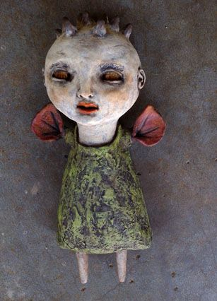 Calan Ree – Art and Musings | Artist Calan Ree – art blog and website – unusual art dolls, GingerDead comic and cards, Illustrated Jewelry, etc.