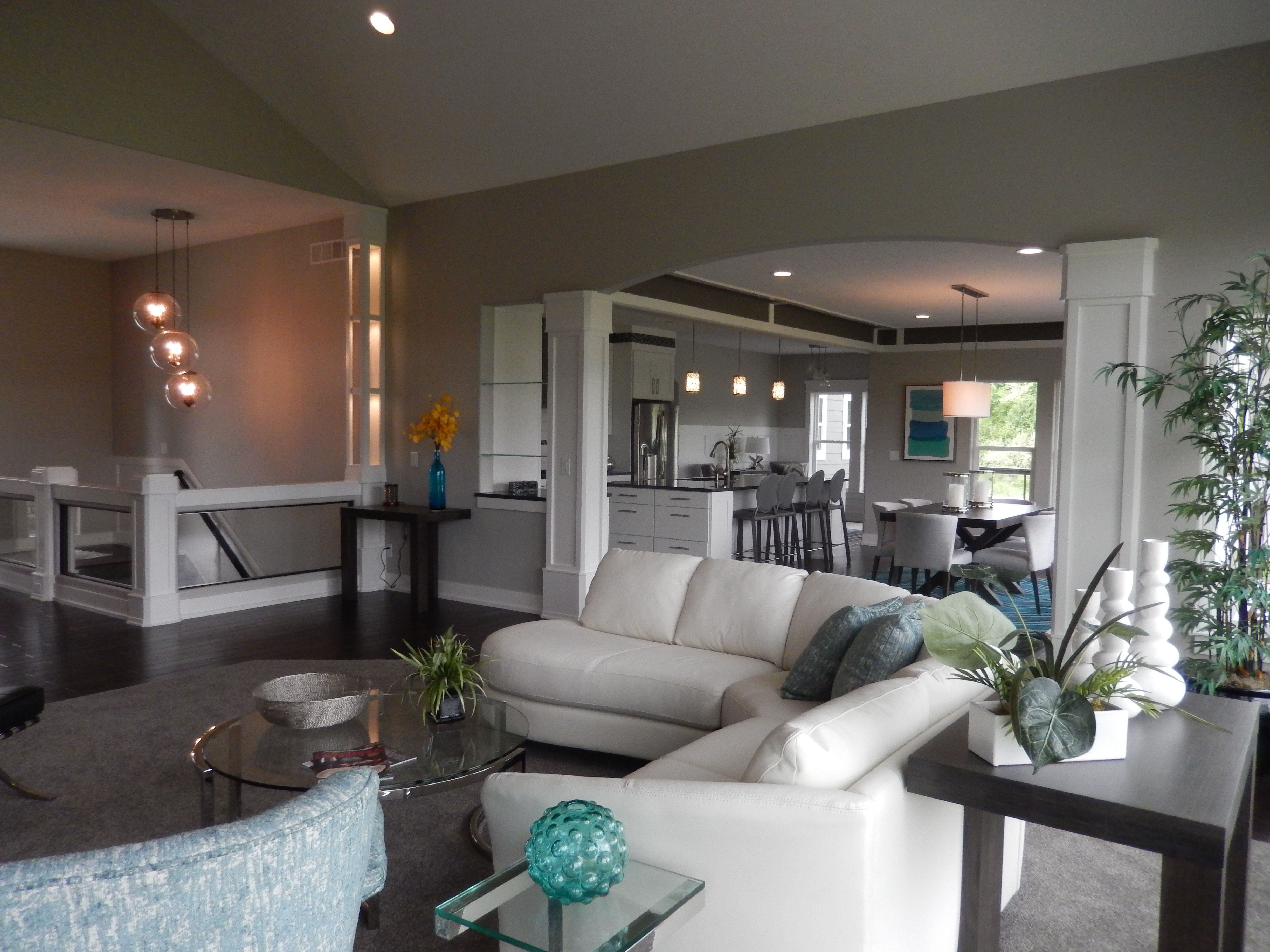 A great open floor plan with a tone of custom details! Come in and meet with Dave Dusendang.