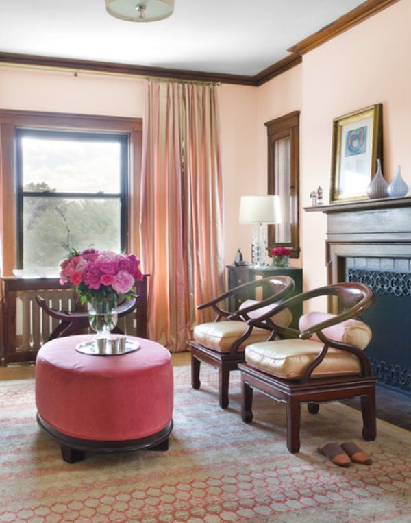 10 Amazing Pink And Chocolate Brown Living Room