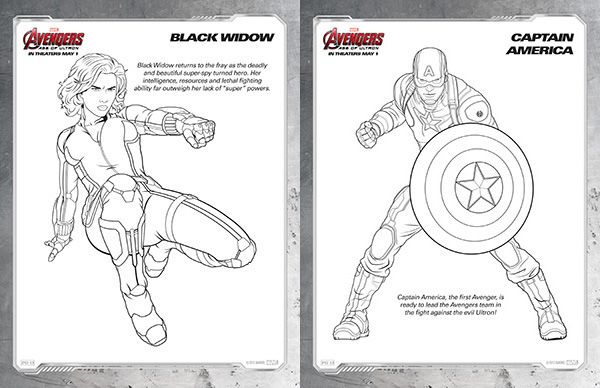 Black Widow Coloring Pages - Eskayalitim