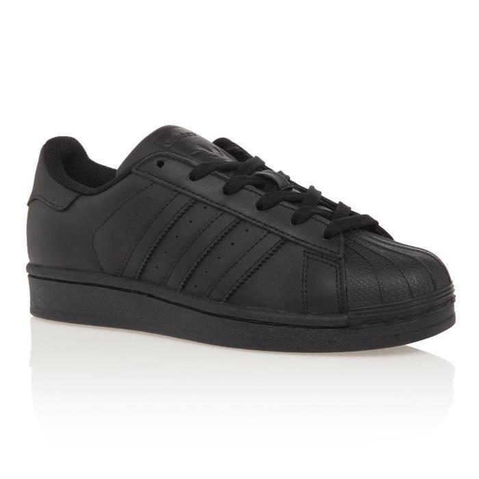 ADIDAS Baskets Superstar - Mixte - Noir   Chaussure de sport ...