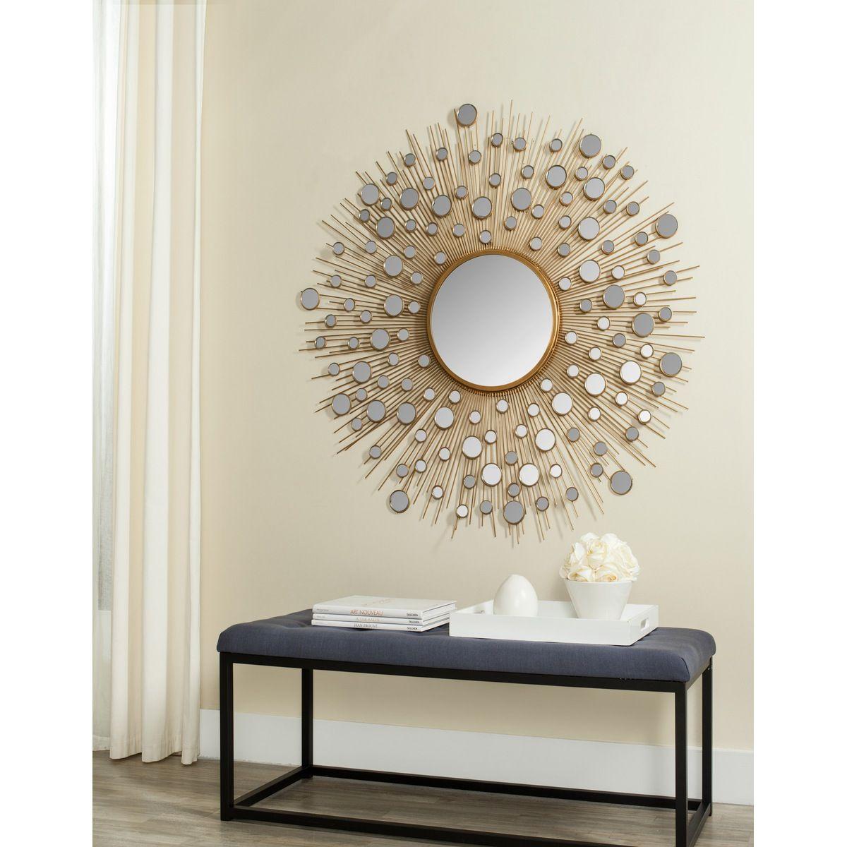 Safavieh Kiara Rain Drops Mirror  Rain Drops Decorative Mirrors Unique Decorative Mirrors Dining Room Decorating Inspiration
