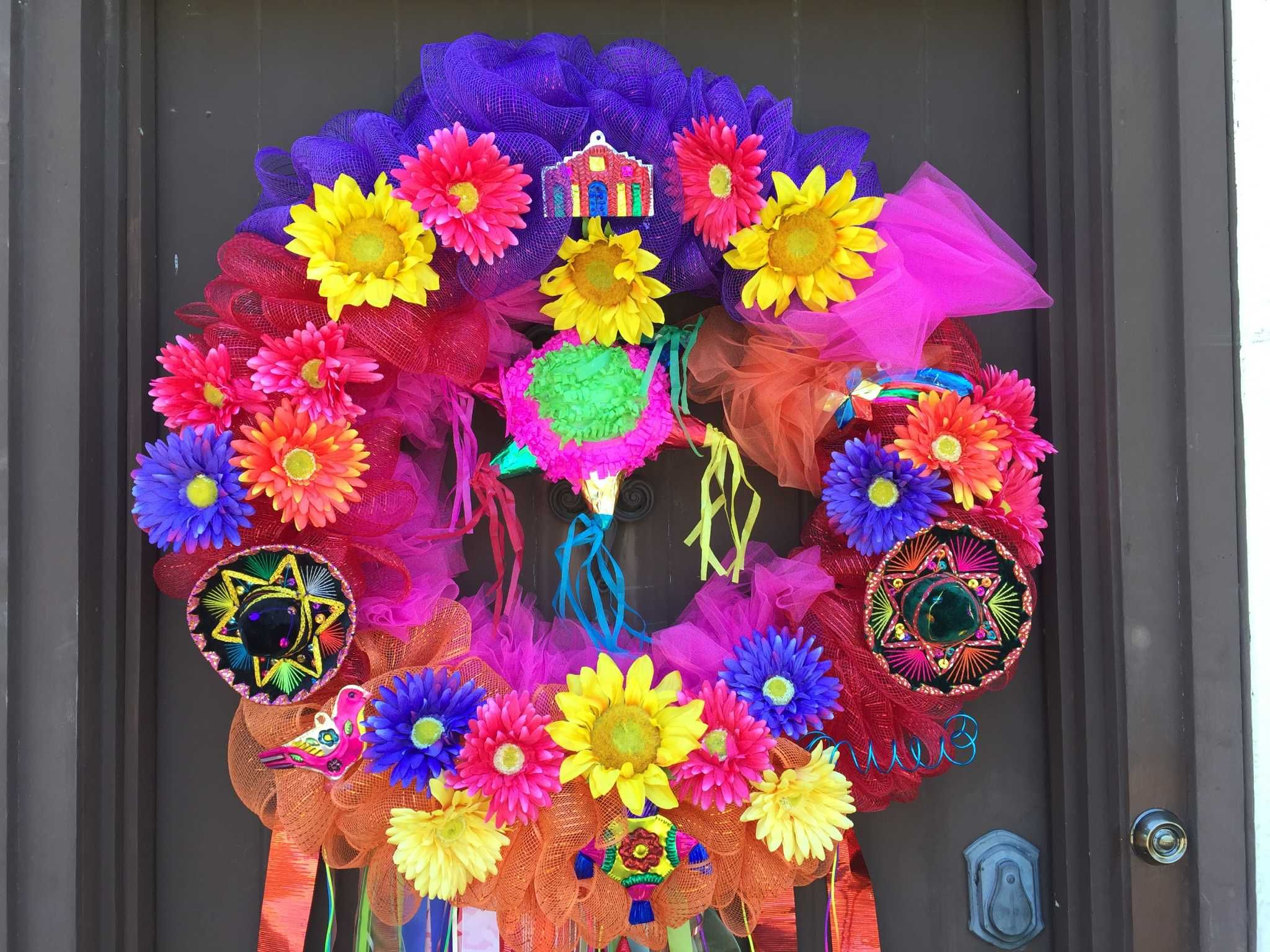 Diy Wreath Supplies Step By Step How To Make Your Own Fiesta Wreath Arts