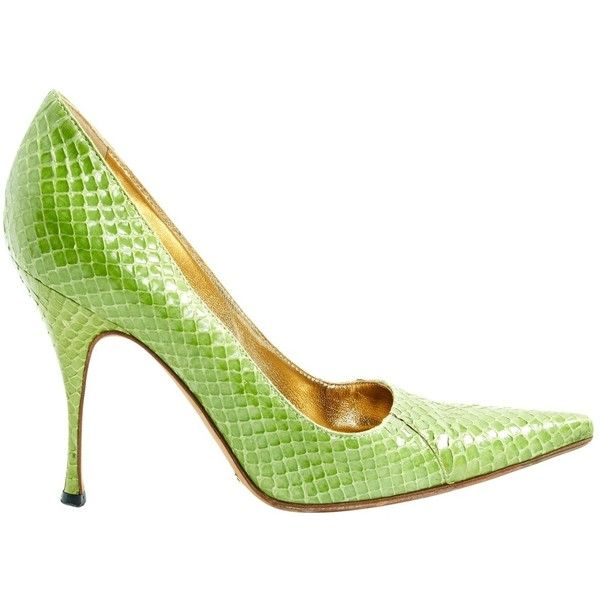 Pre-owned - Python heels Dolce & Gabbana Countdown Package For Sale g5HZNVD
