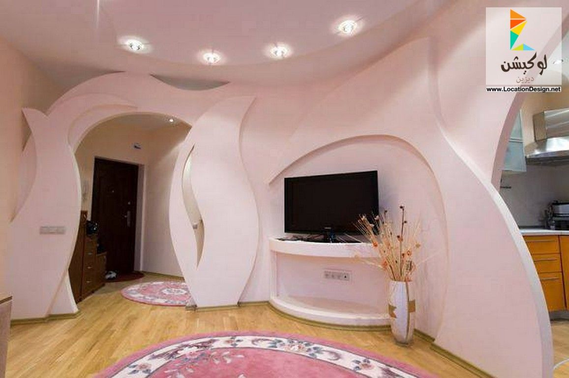ديكورات جبس فواصل صالات بالجبس 2017 2018 لوكشين ديزين نت Bedroom False Ceiling Design Ceiling Design Floor Design