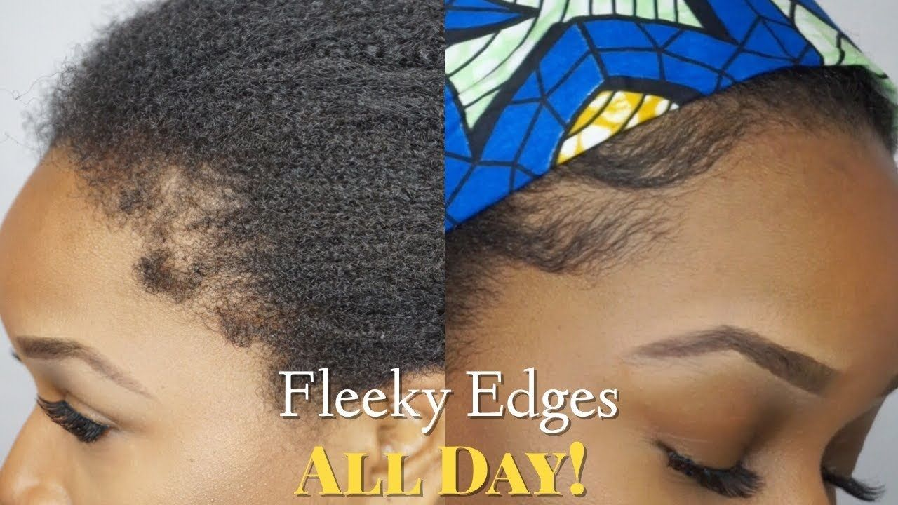 Best Edge Control for unruly 4C coarse hair in 2020 4c