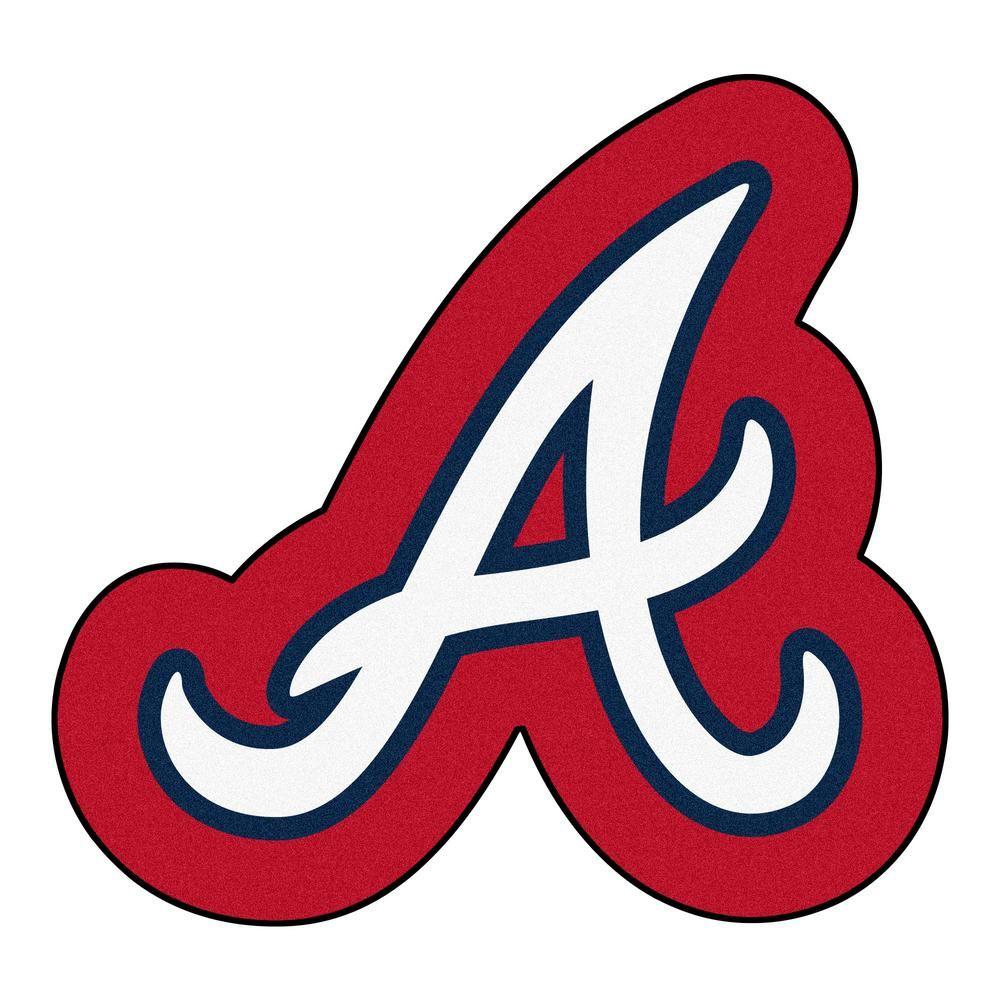 Fanmats Mlb Atlanta Braves 31 5 In X 30 In Indoor Area Rug Mascot Mat 21972 The Home Depot In 2020 Atlanta Braves Braves Atlanta Braves Game