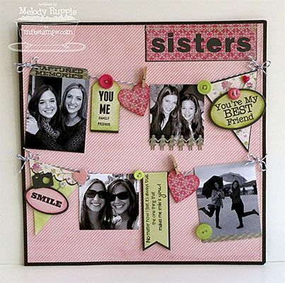 Image Result For Scrapbooking Sisters Page
