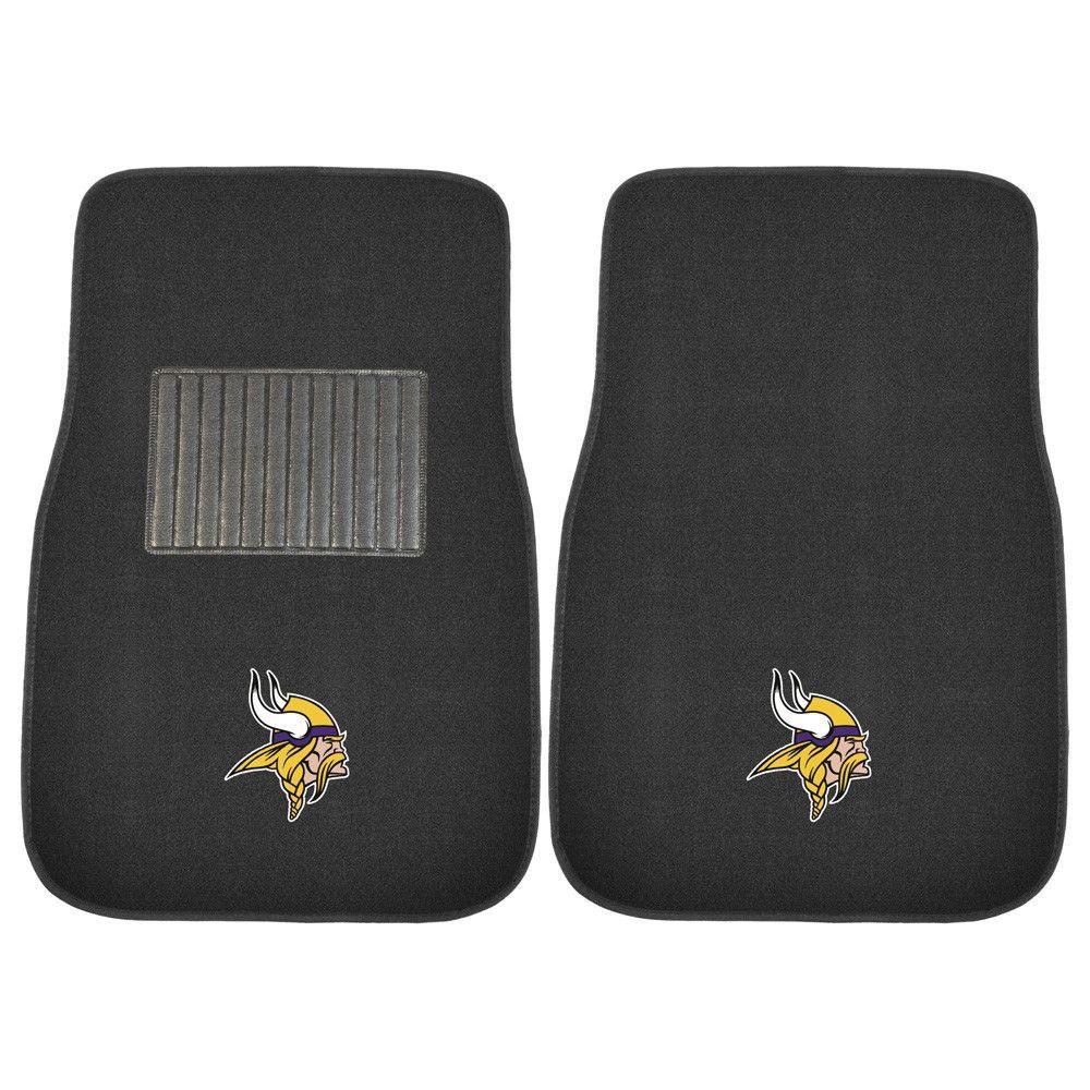 Minnesota Vikings Reinforced Carpet Floor Mats Car floor