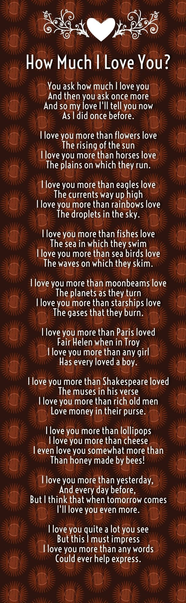 I Love You So Much Poems For Girlfriend Love You Poems