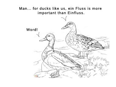 Hello everyone, and welcome to our German Word of the Day. This time we'll have a look at the meaning of der Fluss Sounds like a boring topic. Fluss means river;most of you know that, I thin…