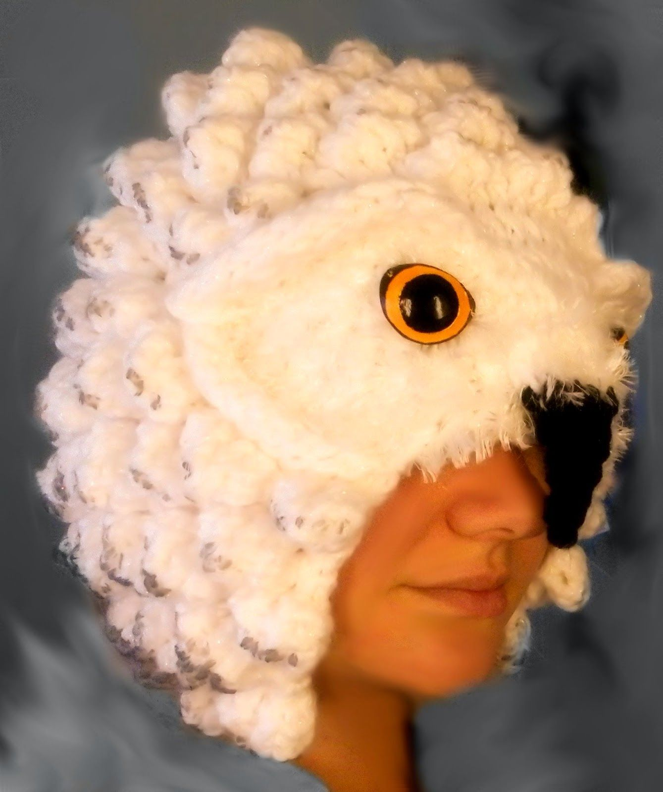 The Loom Muse : Progession of a Pattern: Looming a Realistic Owl Hat ...