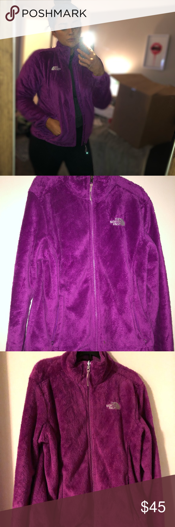 North Face Fleece Jacket Purple Worn 4x No Rips Tears Or Stains The North Face Jackets Coats North Face Fleece Jacket North Face Fleece Fleece Jacket [ 1740 x 580 Pixel ]