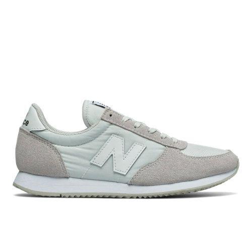 220 New Balance Women's Running Classics Shoes - Grey/White (WL220WT)