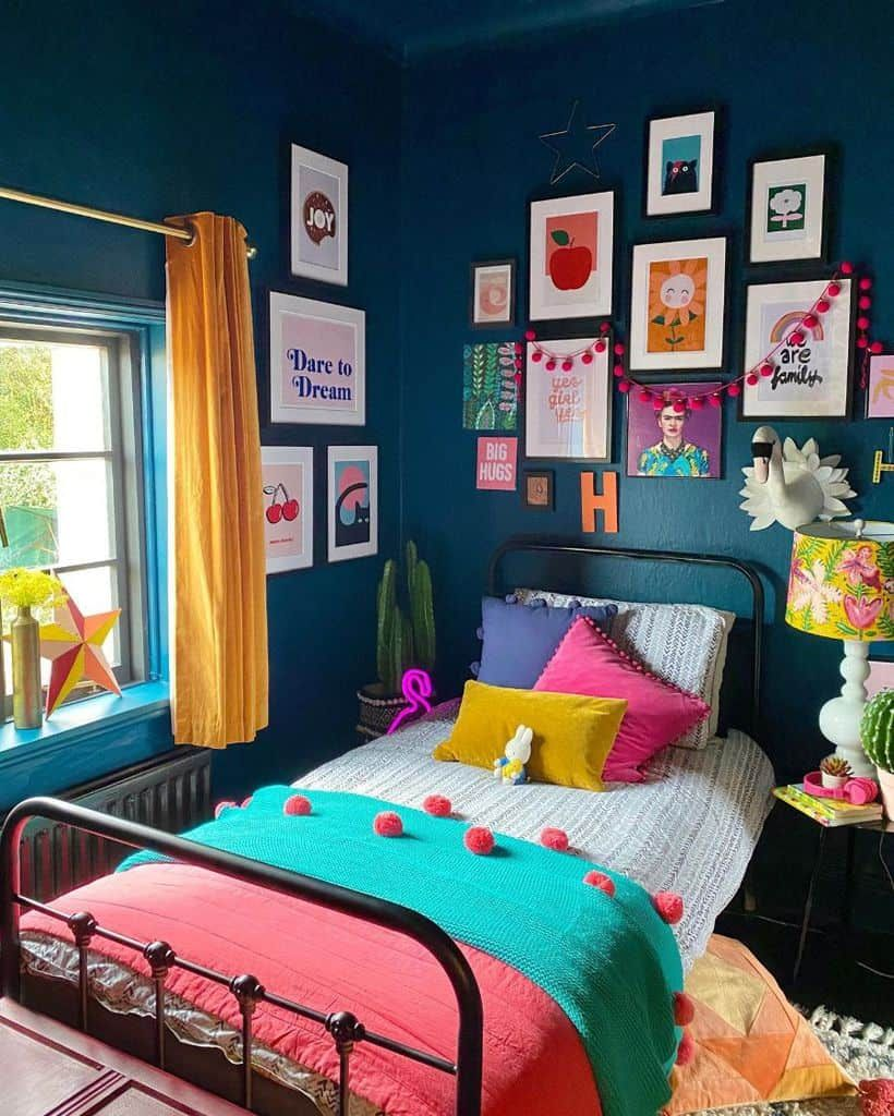 The Top 147 Bedroom Paint Colors Interior Home And Design Indian Bedroom Decor Room Design Bedroom Indian Room Decor Colourful tiny girls bedroom