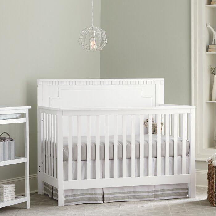 Nikia Panel 4-in-1 Convertible Crib images
