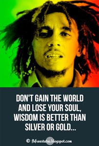 Bob Marley Quotes About Life Love And Money A Bob Marley