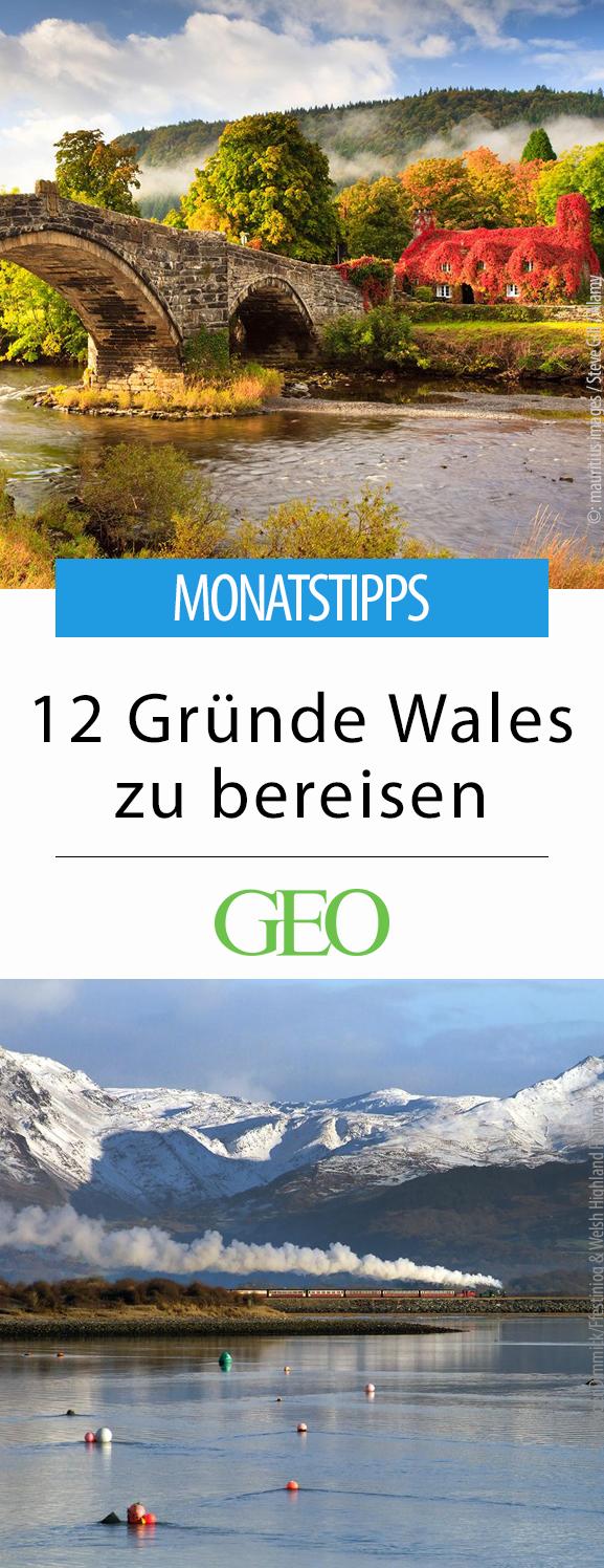 Wales: Tipps für jeden Monat #holidaytrip