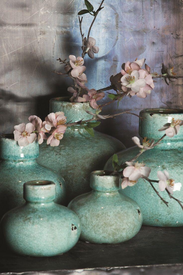 sch ne t rkise vasen auch bei uns im laden ptmd pinterest t rkis vasen und keramik. Black Bedroom Furniture Sets. Home Design Ideas