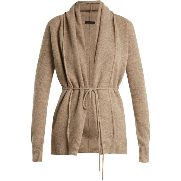 The Row Sarene cashmere cardigan ($1,490) ❤ liked on Polyvore ...