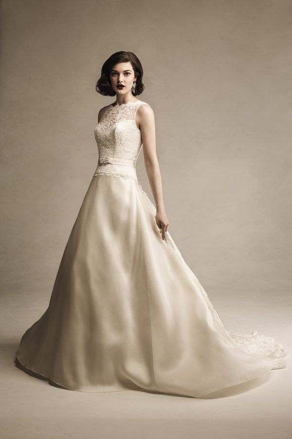Anne Barge 461 Lace Bridal Wedding Dress Gown $6.4K New
