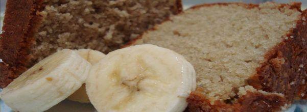 Bolo de Banana no Liquidificador