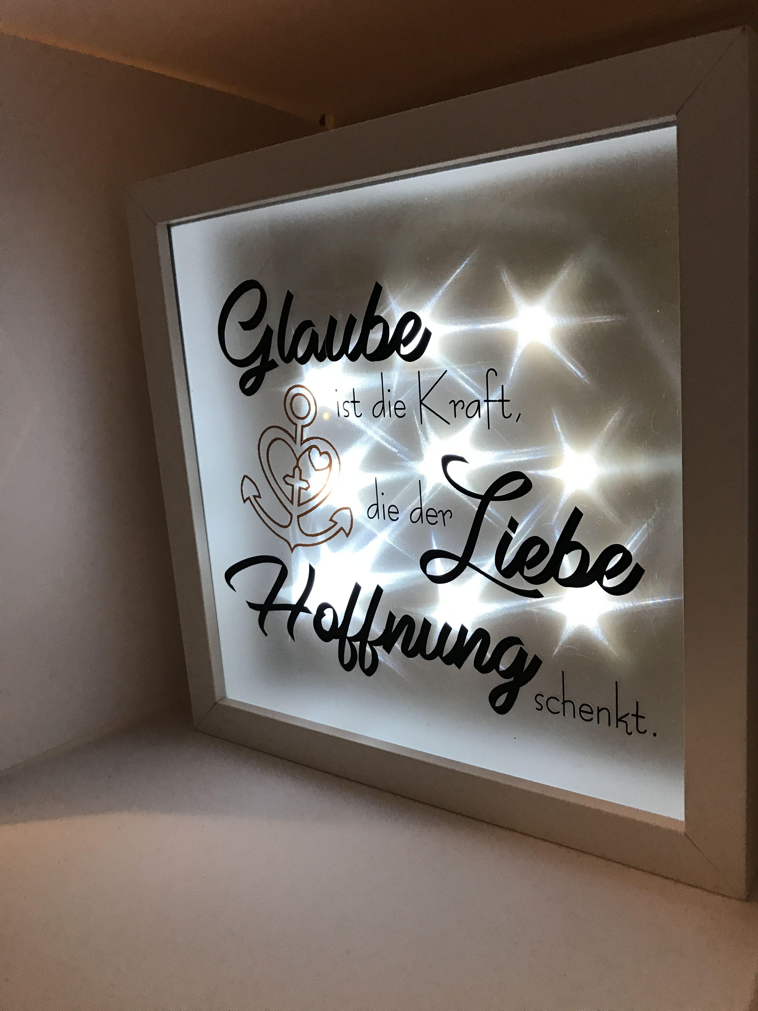 ribba beleuchteter bilderrahmen led lichterkette deko silhouette cameo beleuchteter. Black Bedroom Furniture Sets. Home Design Ideas