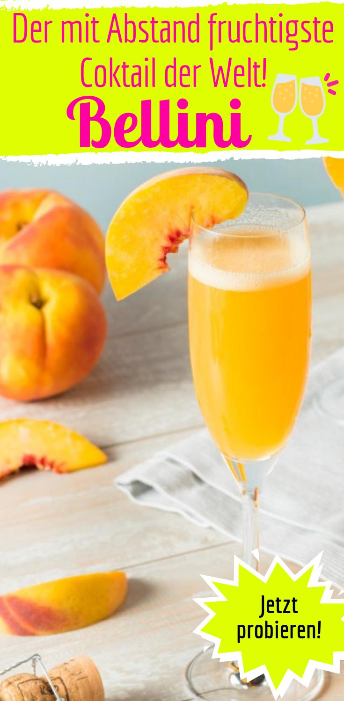 Cocktail: So machst du fruchtigen Bellini einfach selbst #healthystarbucksdrinks