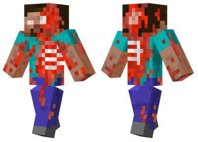 Steve Zombie Skin For Minecraft Pe Minecraft Pe Download Download Files For Minecraft Pe Dog Coloring Page Minecraft Banner Designs Minecraft Skins